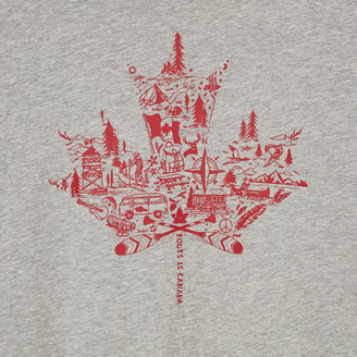 Roots Mens Oh Canada T-shirt
