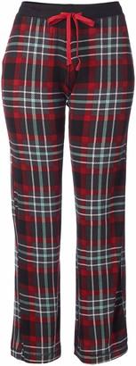 Rene Rofe Women's Double Fun- Long Pajama Pant