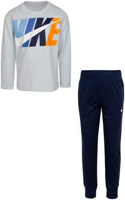 Nike Little Boy's 2-Piece Thermal Top Pants Set