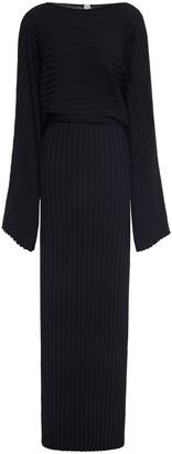Totême Maristella Ribbed-knit Maxi Dress