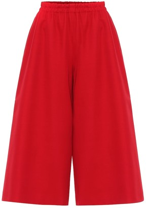 Gucci Wool and silk culottes