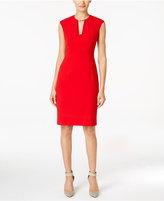 Calvin Klein Keyhole Sheath Dress