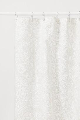 H&M Cotton-blend Shower Curtain - White