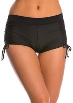 Champion Women's Adjustable Side Shirred Boyshort Bikini Bottom 8140254