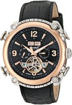 """Ingersoll Men's IN4505RBK """"Classic"""" Stainless Steel Automatic Watch with Faux Leather Band"""