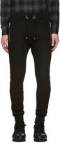 Balmain Black Diamond Lacing Lounge Pants