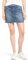 Paige Women's Alethea Cutoff Denim Miniskirt