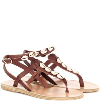 Ancient Greek Sandals Exclusive to Mytheresa Estia embellished leather sandals