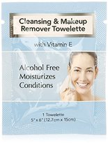 Diamond Cleansing & Makeup Remover Wipes with Vitamin E, 25 Pack