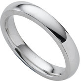 9ct White Gold Super Heavy 3mm Court Ring