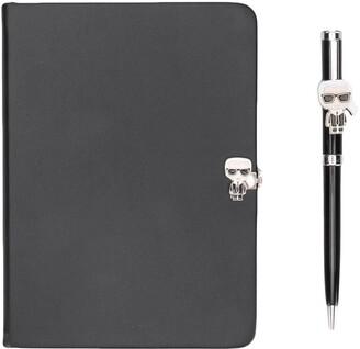 Karl Lagerfeld Paris journal and pen set