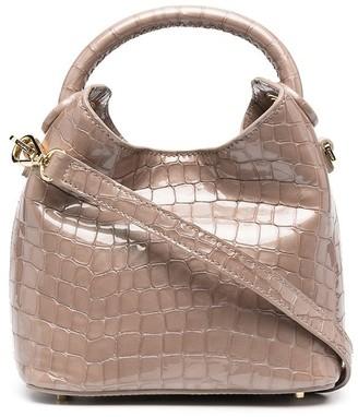 Elleme Crocodile-Effect Mini Bag