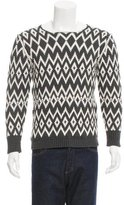 Marc Jacobs Patterned Crew Neck Sweater