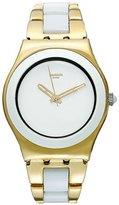 Swatch Women's Irony YLG122G Gold Stainless-Steel Swiss Quartz Watch
