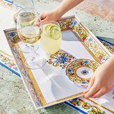 Sur La Table Floreale Serving Tray