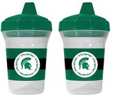 Baby Fanatic NCAA Michigan State Spartans 2 Pack Sippy Cup
