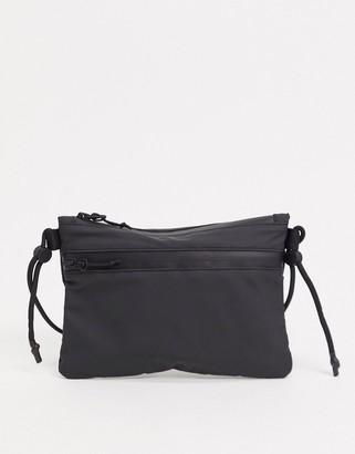Rains 1350 ultralight pouch crossbody bag in black
