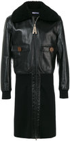 Givenchy biker tailored coat
