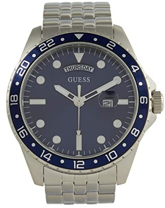 GUESS Comet GW0220G1 (Silver/Blue) Watches