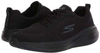 Skechers Go Run Fast - Float (Black) Women's Running Shoes