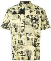 Carhartt safari print shirt