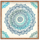 DENY Designs Mandala Large Square Tray