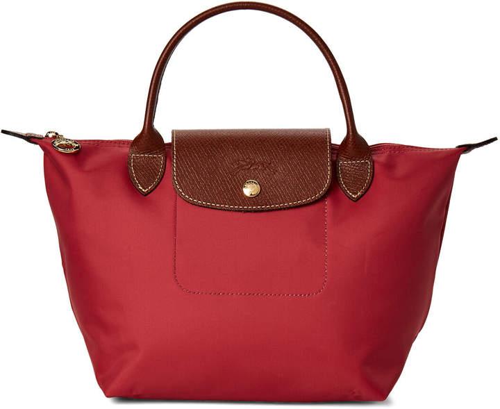 9867676179 Longchamp Red Top Handle Handbags - ShopStyle