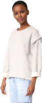 Maison Margiela Button Convertible Sweatshirt