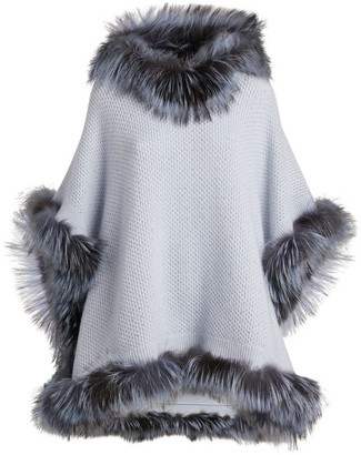 William Sharp Cashmere Hooded Cape