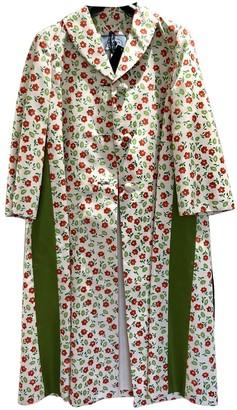 Prada Multicolour Silk Trench Coat for Women