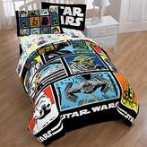 Star Wars Classic Grid Comforter/Sheet Set-Twin Size