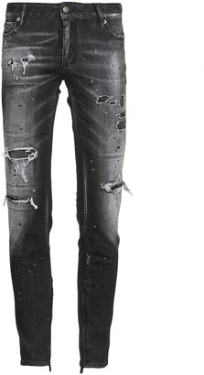DSQUARED2 Twin Pack Straight Leg Sharpei Jeans