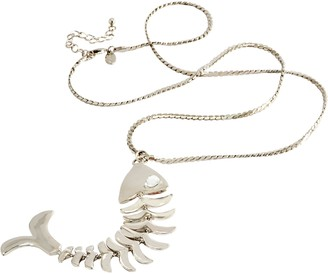 Linea By Louis Dell'olio by Louis Dell'Olio Fish Pendant Necklace