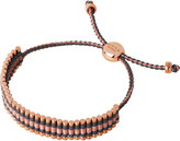Links of London 18ct rose gold-plated friendship bracelet