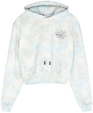 Off-White Meteor Shower tie-dyed cotton sweatshirt