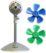 Key Stone Keystone 10 Inch Interchangeable Head Flower Fan