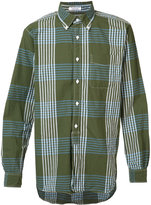 Engineered Garments checked shirt - men - Cotton - M
