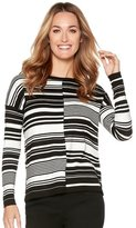 M&Co Cut about stripe jumper