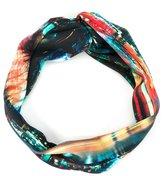 Lygia E Nanny Kids - printed headband - kids - Polyamide - One Size