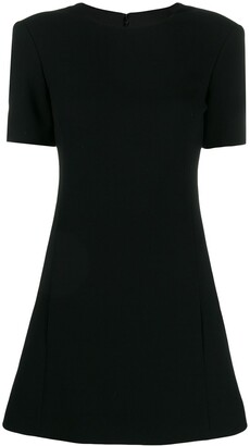 Saint Laurent flared mini dress