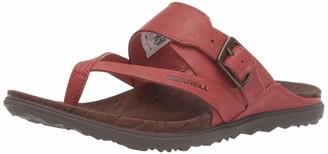 Merrell Women's Around Town Luxe Bckl Thong Shoe