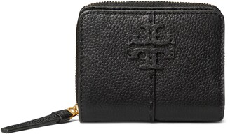 Tory Burch McGraw Bifold Leather Wallet