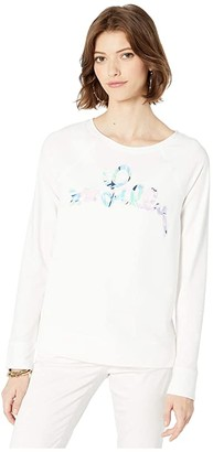 Lilly Pulitzer Elliana Pullover (Multi Bermudaful Applique) Women's Clothing