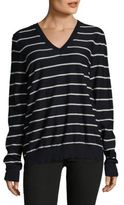 Marni Knitted V-Neck Wool Sweater