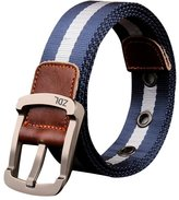 Sitong Men's casual pin buckle thickening canvas belt