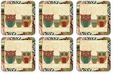Pimpernel Spice Road Square Coasters (Set of 6)
