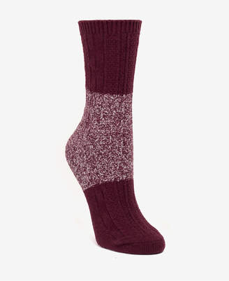 DKNY Super Soft Chunky Color-Blocked Boot Sock, Online Only