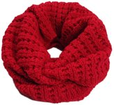 Tomily Women's Winter Thick Knitted Warm Infinity Scarf Wraps