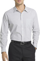 Van Heusen Long-Sleeve Non-Iron Traveler StretchButton-Front Shirt