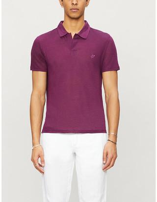 Vilebrequin Embroidered-logo linen polo shirt